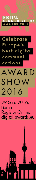 Award Show 2016 - Digital Communication Awards 2016